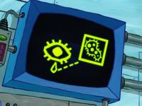 SpongeBob SquarePants Karen the Computer Eye