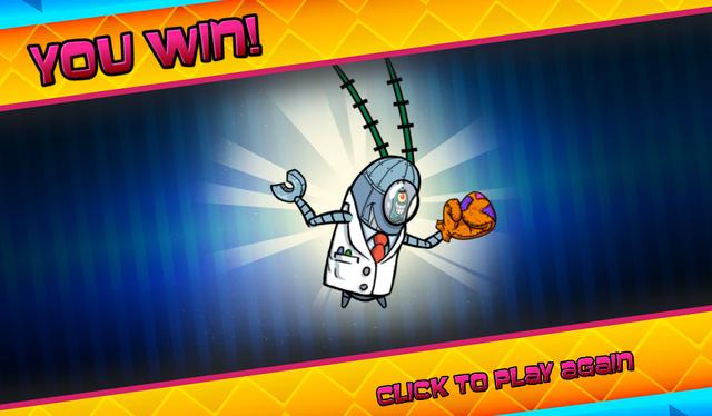 File:Bikini Bottom Brawlers Scientist Plankton robot you win.png
