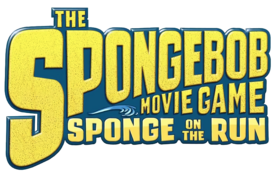 The SpongeBob Movie Game - Sponge On the Run logo