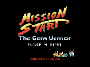 Mission Start - The Germ Warrior