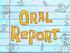 Oral Report