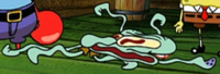 Squidward Flattened