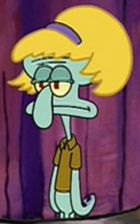Squidward as Jan