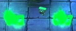 3d Spongebob & 2 Ghosts (all In 1 Cave)