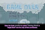 Sub Zero Hero - Game Over