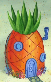 SpongeBob's pineapple house in Season 8-3