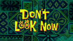 Don't Look Now Titlecard