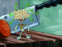 Monster Squidward
