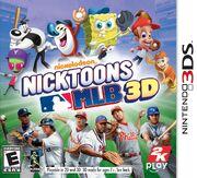 Nicktoons MLB 3D box art