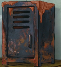 Mr. Krabs' Navy Locker - Dirty