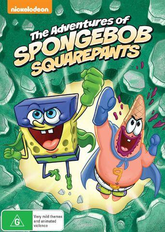 File:The Adventures of SpongeBob SquarePants Australian DVD.jpg