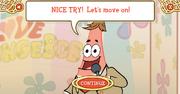 I Love SpongeBob - NICE TRY!