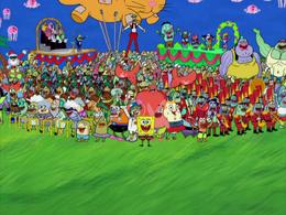 SpongeBob's Last Stand character error