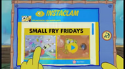 SpongeBob Checks His Instaclam 12