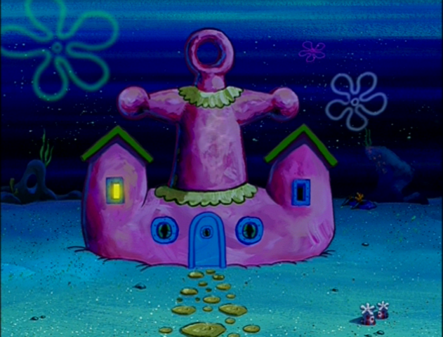 File:Mama Krabs' House at night.png