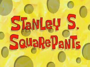 Stanley S. SquarePants