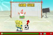 SpongeBob's Soccer Shoutout - Game over