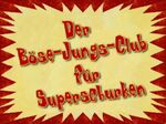 135b. Der Böse Jungs Club für Superschurken