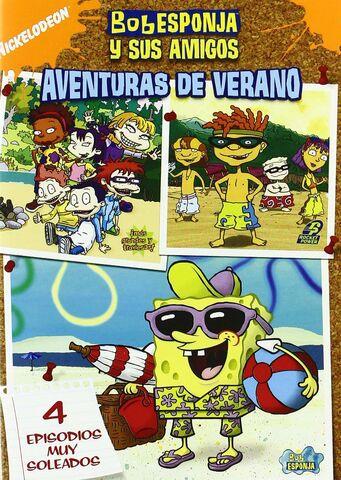 File:Bob Esponja y Sus Amigos - Aventuras de Verano DVD.jpg