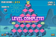 Pyramid Peril - Level Complete!