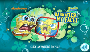 Barnacles! My Face!