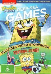 SpongeBob Deep-Sea Games Australian DVD