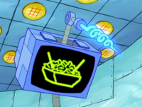 SpongeBob SquarePants Karen the Computer Stir-Fry