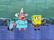 Patrick in Plankton Pays