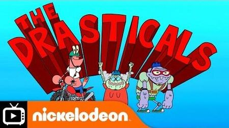 SpongeBob SquarePants - The Drasticals Nickelodeon