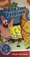 Spongebob Home Sweet Pineapple VHS