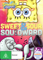Sweet and Sour Squidward Australian DVD