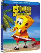 The SpongeBob Movie - Sponge Out of Water alternate Blu-ray cover