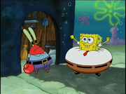 Mr. Krabs in The Sponge Who Could Fly-22