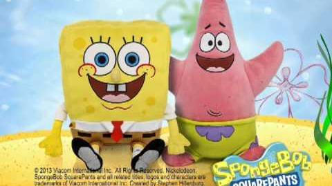 SpongeBob at Build-A-Bear Workshop!