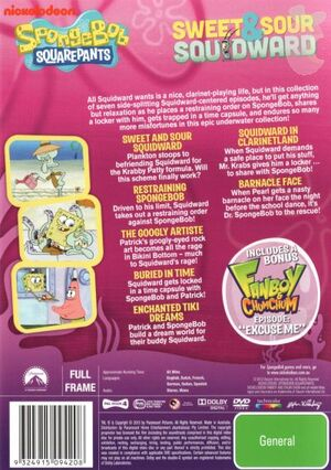 Sweet & Sour Squidward DVD Back Cover