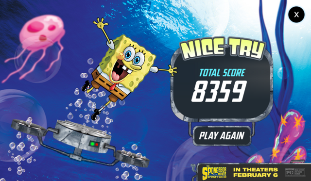 File:The SpongeBob Movie - Sponge Out of Water - Save the Krabby Patty - Nice try.png