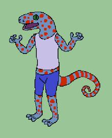 Wain the Gecko
