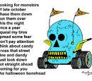 The Halloween Bonehead