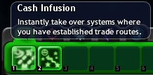 Cash infusion icon