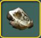 Golden geode icon