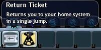 Return Ticket Icon