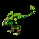 Emerald Toxiraptor By CederDUDE22
