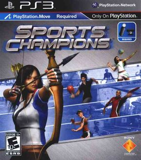 Sports champions game cover