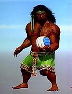 Outfit tatupu casual beach volleyball