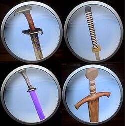Gladiator Duel bonus weapons emblems