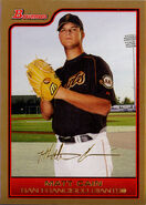 2006 Bowman Baseball Gold Parallel