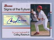2008 Bowman Baseball SOFT CR Rasmus