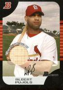 2005 Bowman Baseball Relics 105