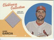 2012 Topps Heritage Clubhouse JG