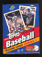 1993 Topps Box Series 1